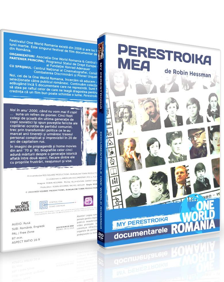 My Perestroika  | Perestroika mea DVD - One World Romania
