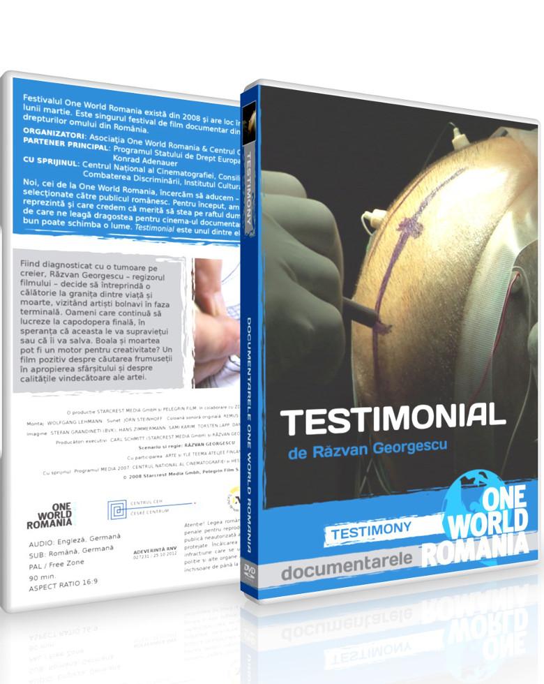 Testimonial DVD - One World Romania