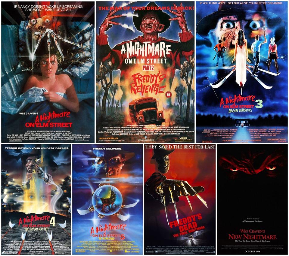 35 de ani de la primul film Nightmare on Elm Street - întreaga serie originală se vede la Lună Plină
