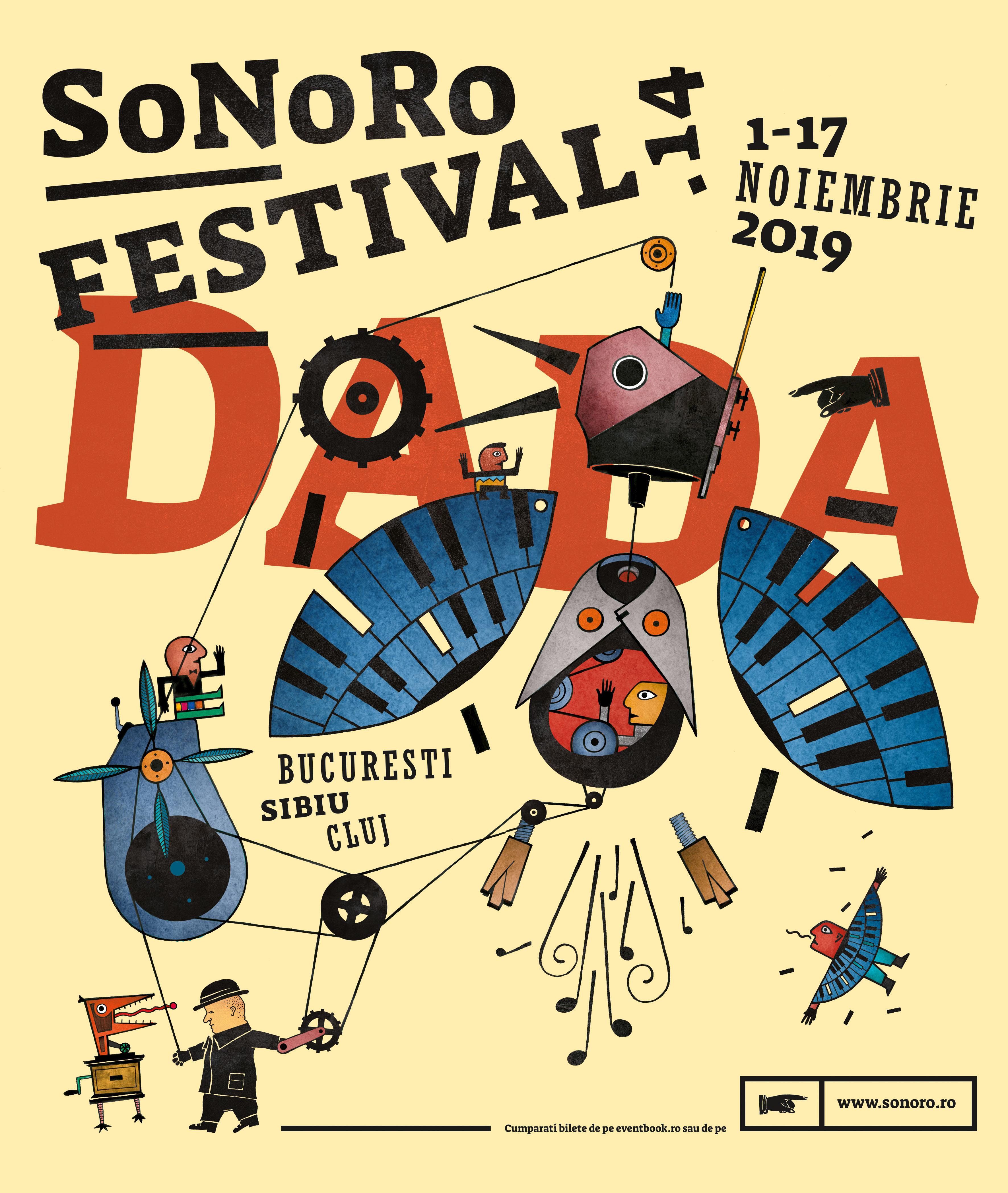 Festivalul SoNoRo XIV DaDa