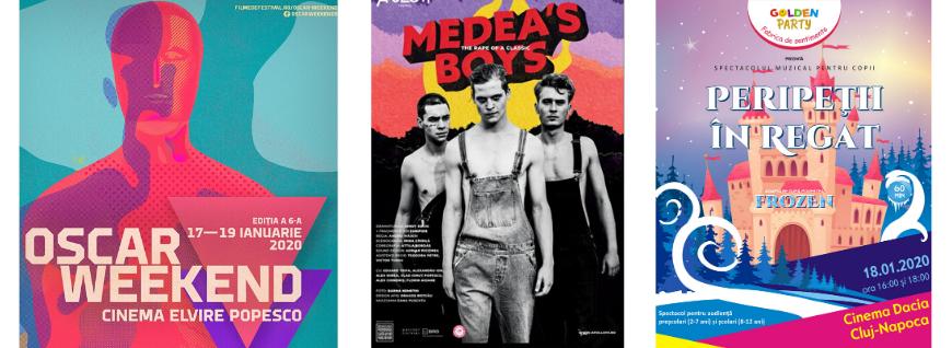Film, teatru, muzică & Co. [17-19 ianuarie]