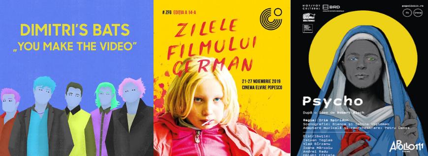 Film, teatru, muzică & Co. [22-24 noiembrie]