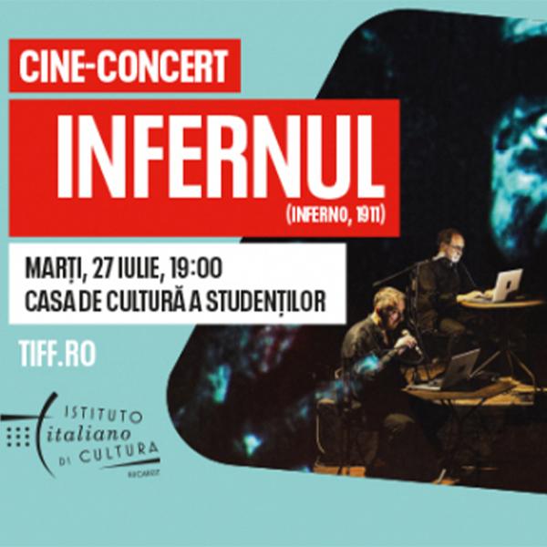 Inferno, live soundtrack by Edison Studio (Italy)