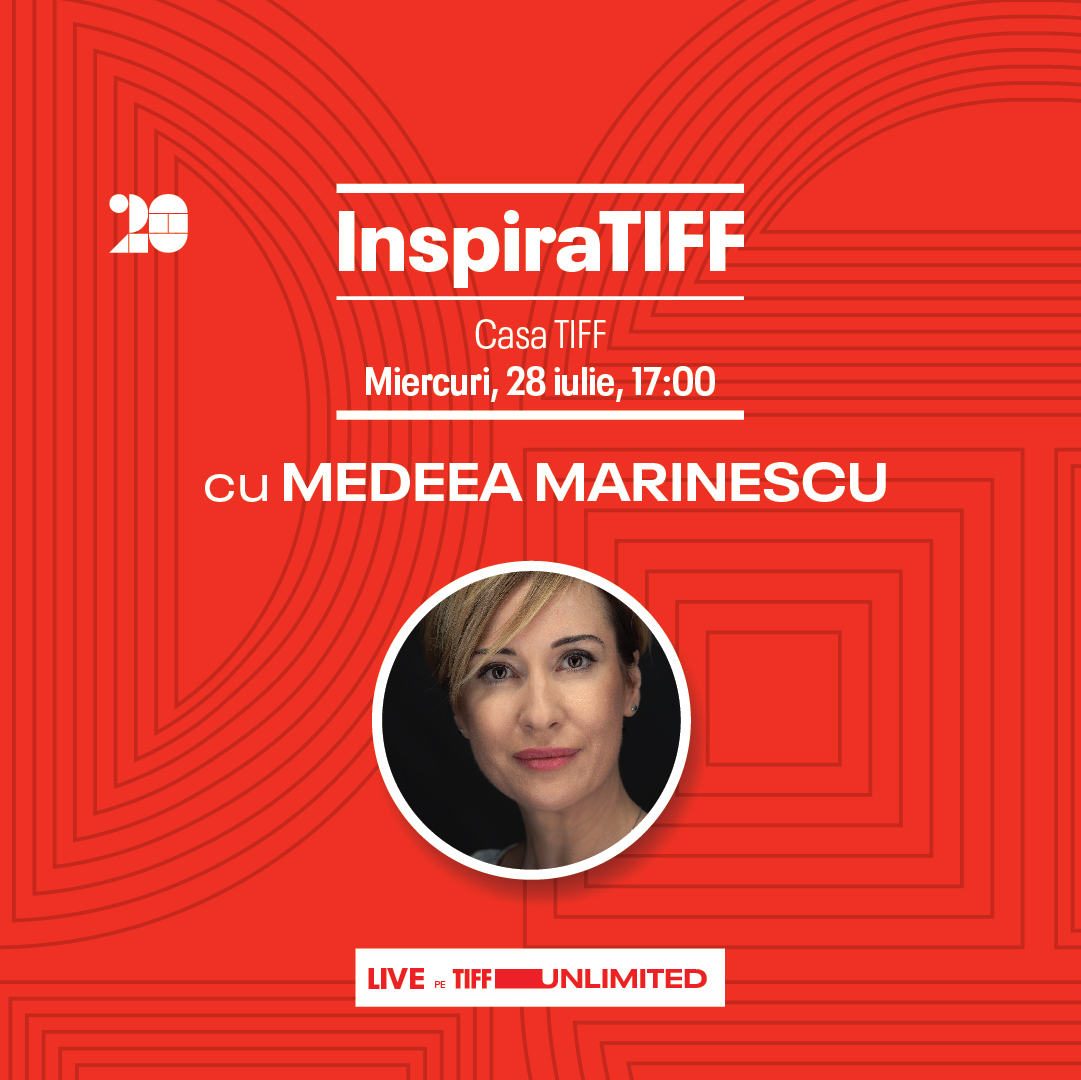 InspiraTIFF with Medeea Marinescu, on July 28