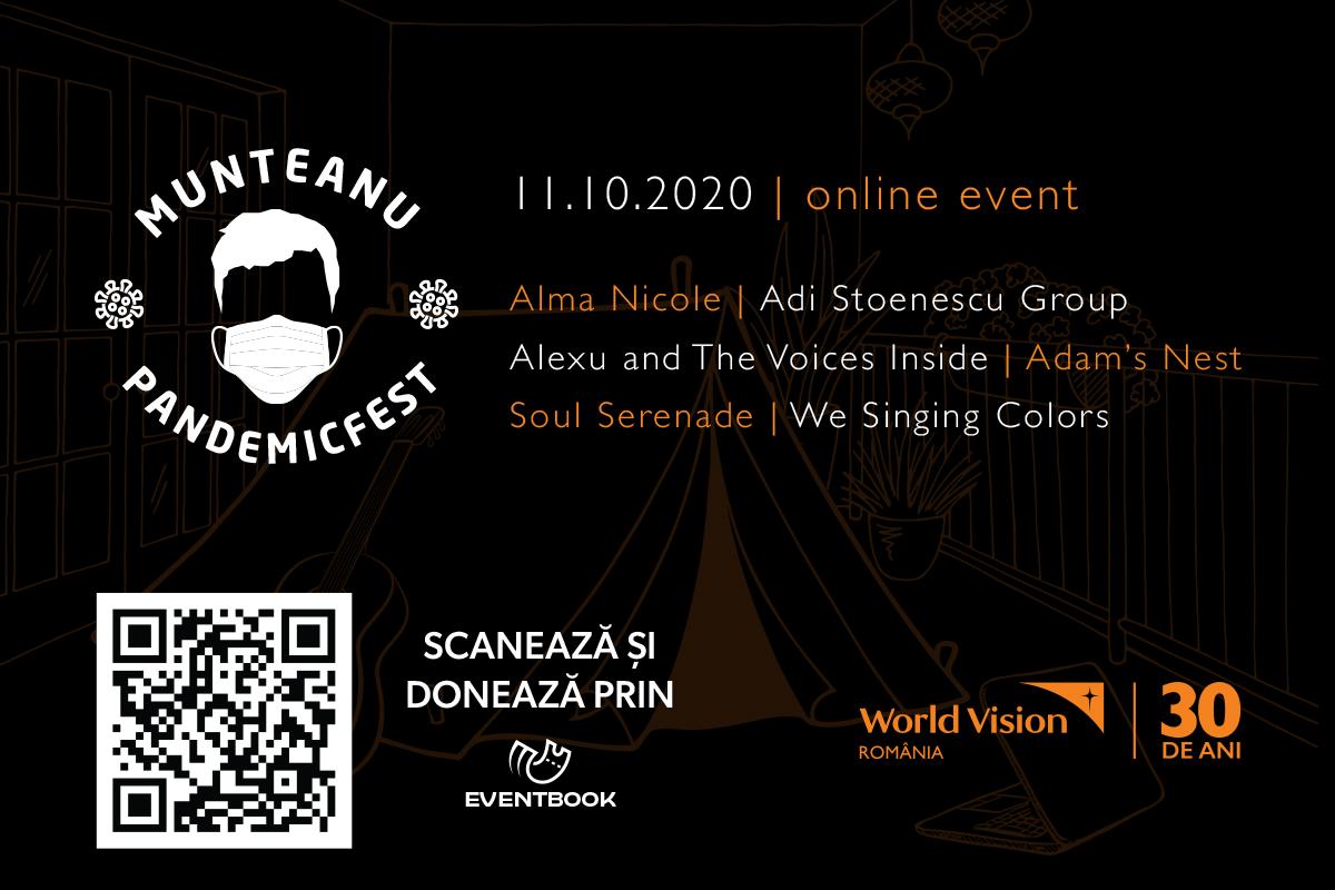 Munteanu Fest - ediția a 5-a va avea loc pe 11 octombrie 2020