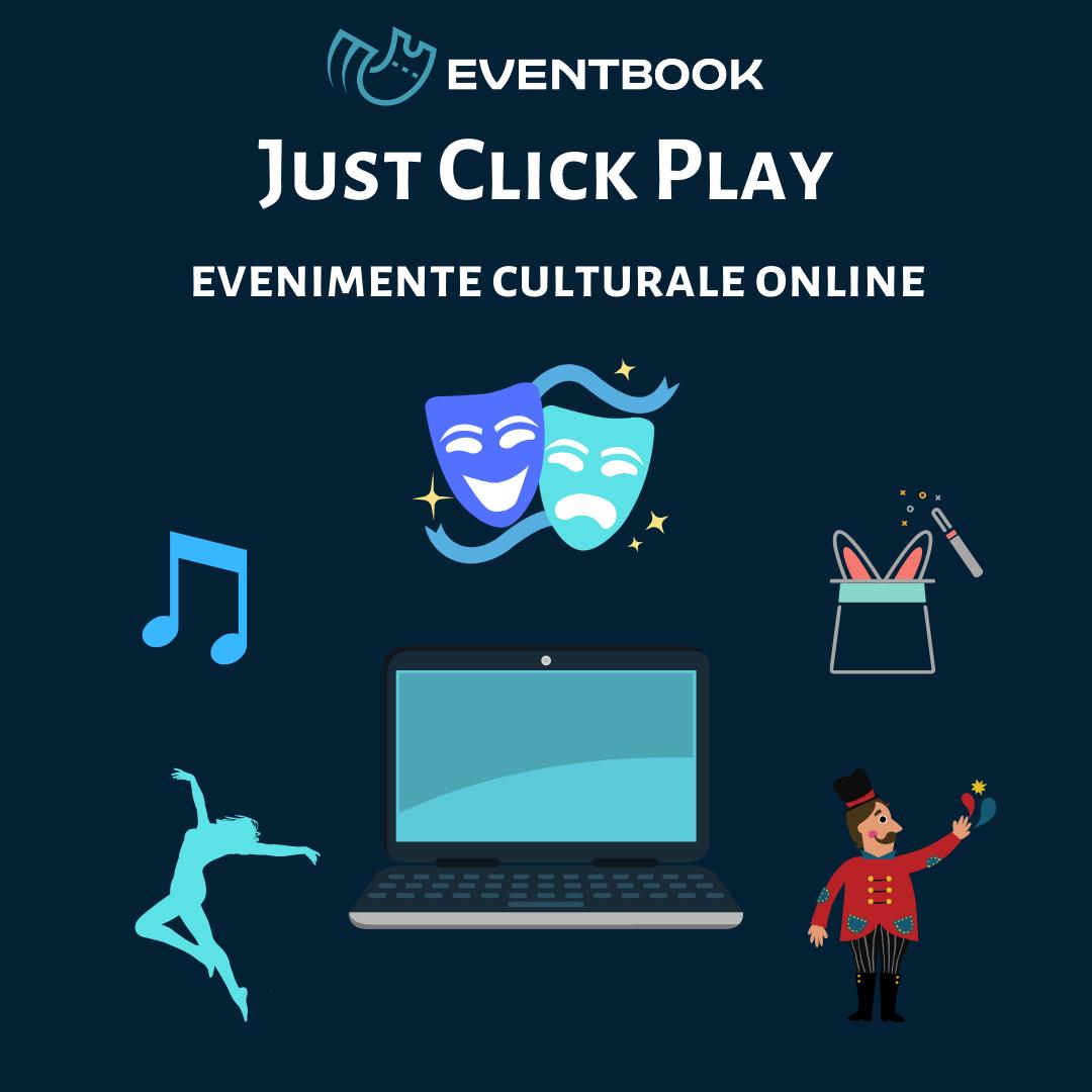 Mută-ți spectacolele în online pe platforma Eventbook
