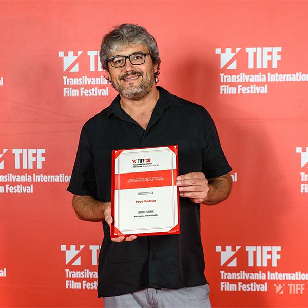 Spanish director David Martin de los Santos invited at TIFF Sibiu