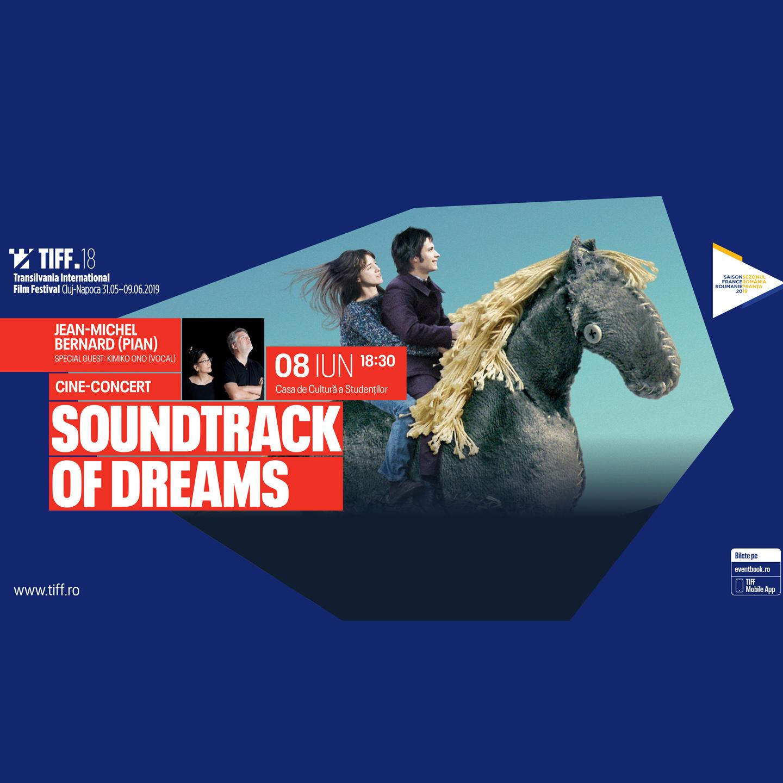Soundtrack of Dreams – cine-concert Jean-Michel Bernard