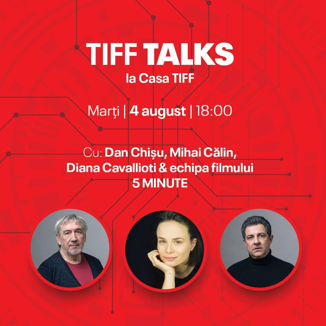 """The """"5 minutes too late"""" team at TIFF Talks"""