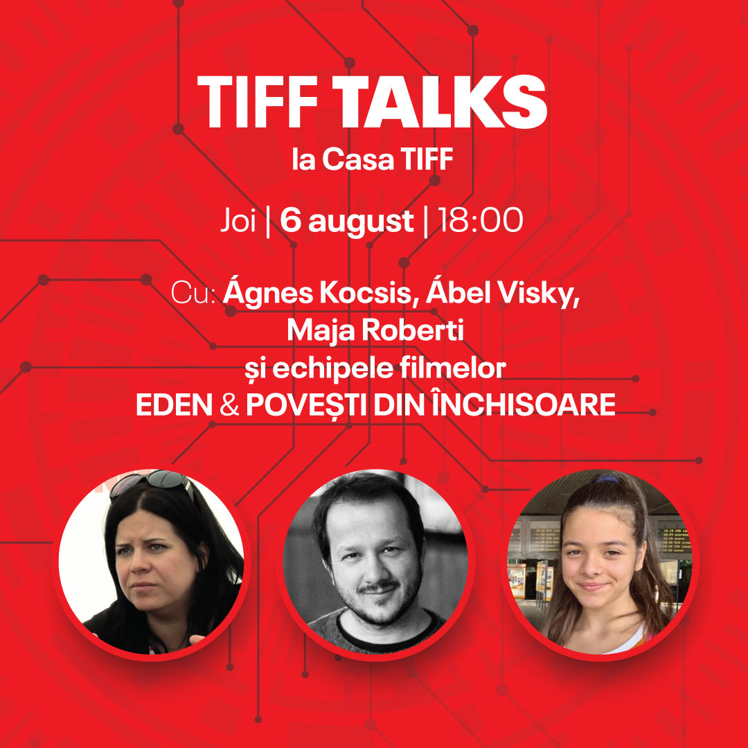TIFF Talks with the teams of the movies ,,Eden'' and ,,Tales from the prison cell''