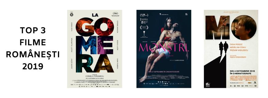 Top 3 filme românești în 2019