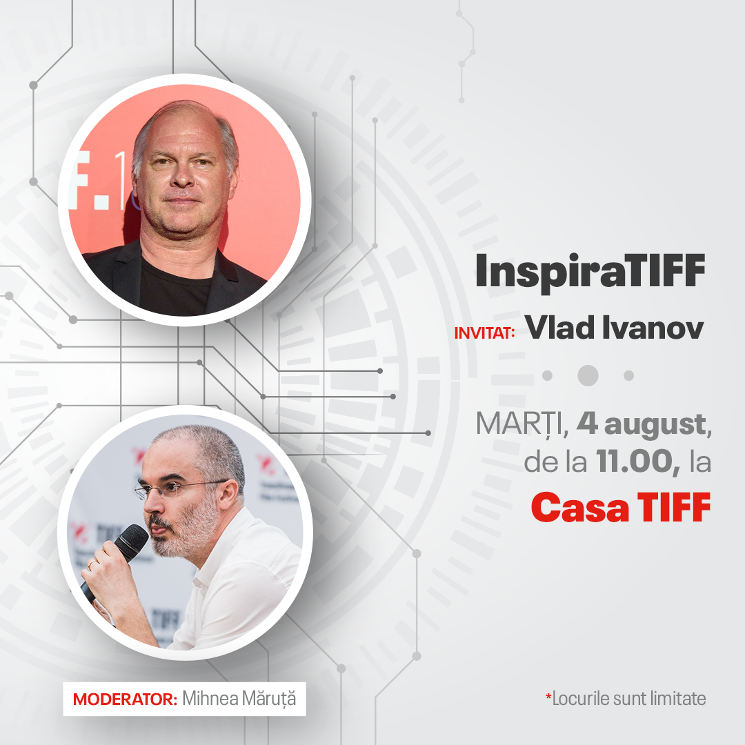 Vlad Ivanov celebrates his birthday with the InspiraTIFF audience