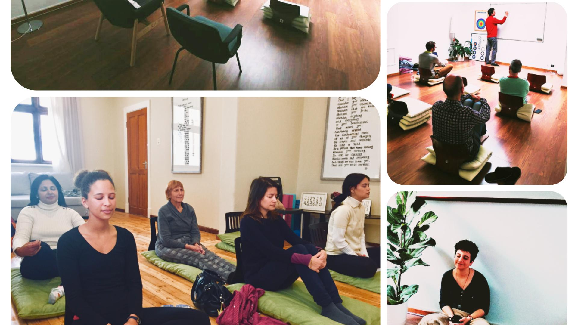 Free Meditation Introduction Class in Meditation Center in Lisbon
