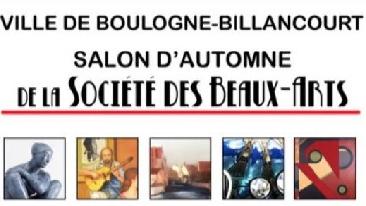 SALON D'AUTOMNE DE LA SOCIÉTÉ DES BEAUX-ARTS DE BOULOGNE-BILLANCOURT