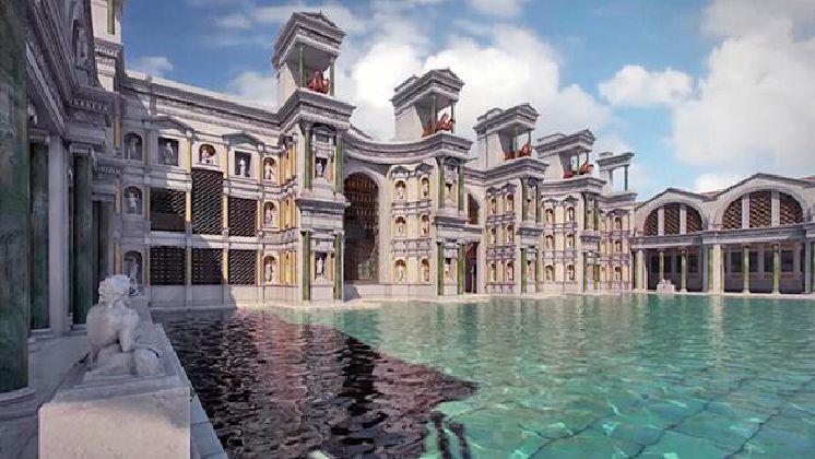 Terme di Diocleziano in notturna - Visita guidata del più esteso complesso termale dell'antica Roma a numero chiuso a soli €15 compreso biglietto