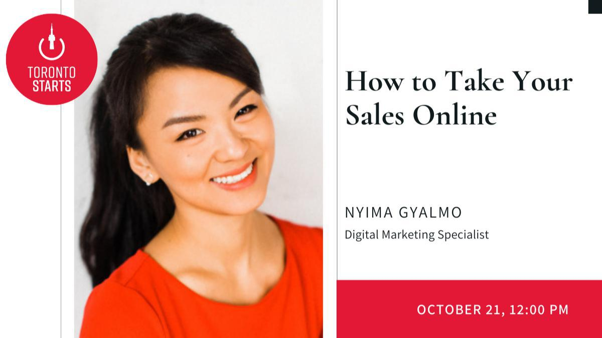 How to Take Your Sales Online with Digital Marketing Specialist Nyima Gyalmo