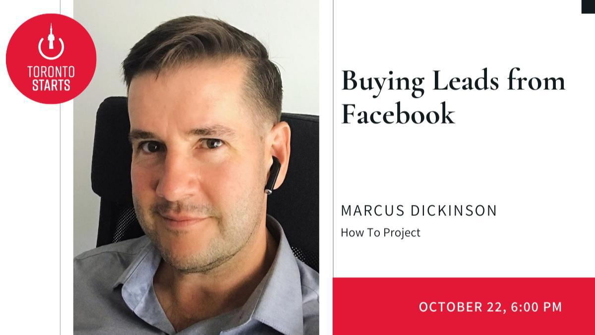 Buying Leads from Facebook with Marcus Dickinson