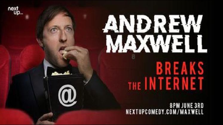 Andrew Maxwell Breaks The Internet // Live Stand-Up Comedy