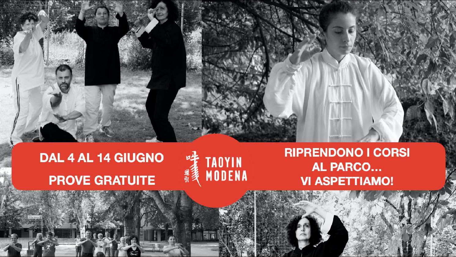 Corsi al parco: qi gong, tai chi, arti marziali cinesi, pilates - PROVE GRATUITE