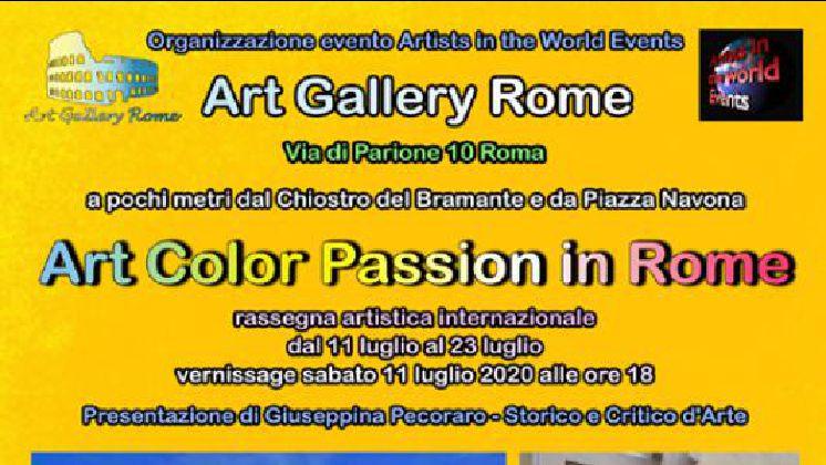 Art Color Passion in Rome