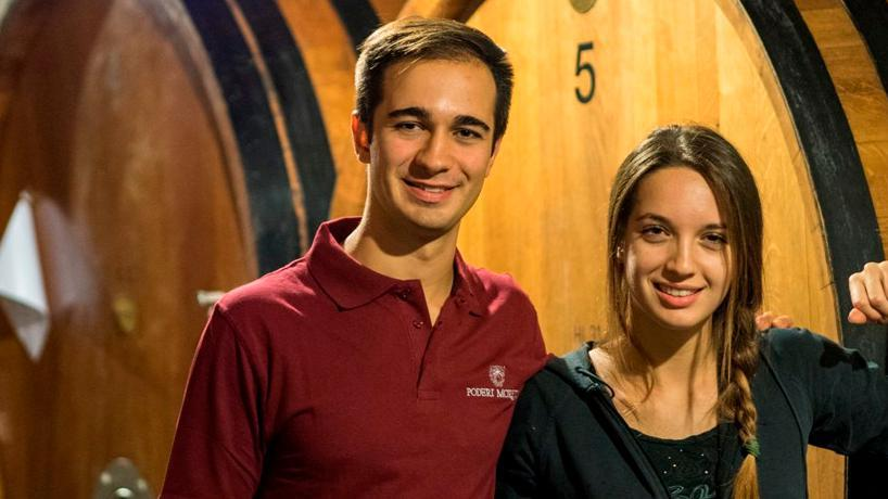 PODERI MORETTI open winery for tour and tasting fine wines on July and August 2020