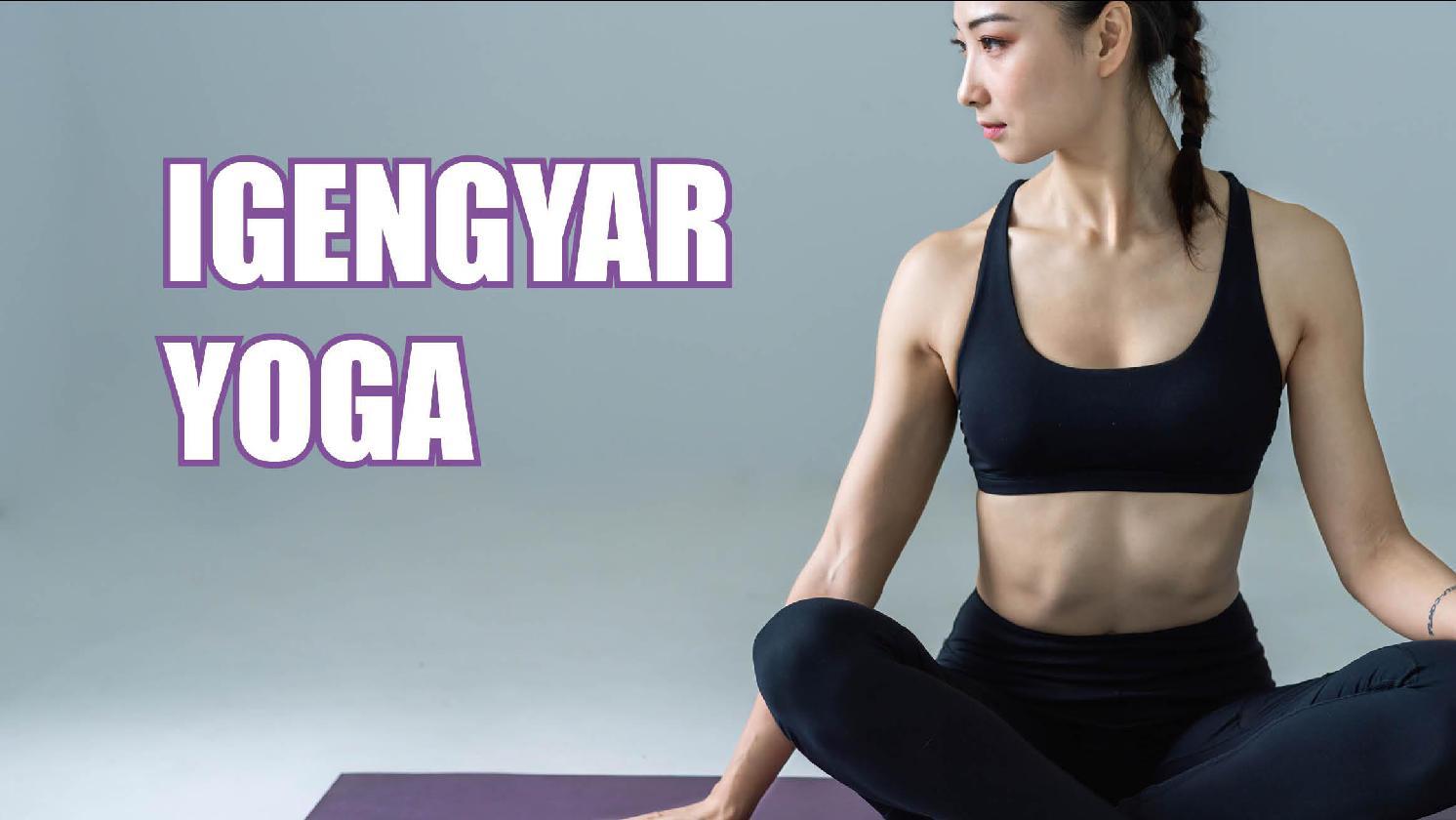 Yoga Classes - Iyengar Yoga
