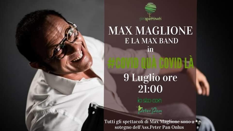 Max Maglione presenta Covid Qua Covid Là presso l'Associazione Culturale Pinispettinati
