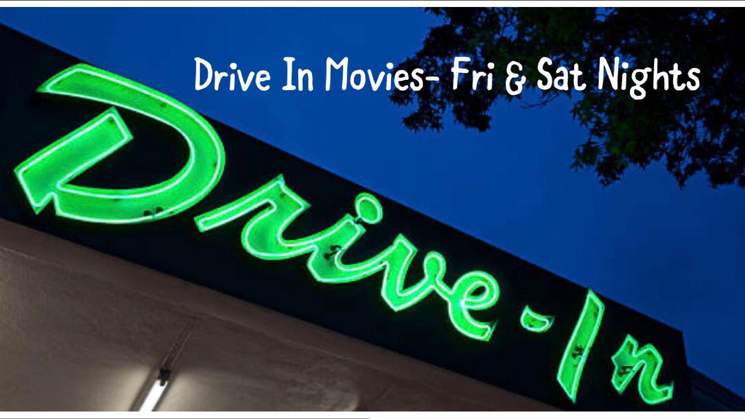 Drive-In Movies--Fri & Sat Nights at Aurora Cineplex (Roswell)-thru Aug 15th