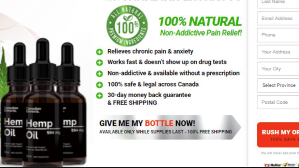 Canadian Extracts Hemp Oil Canada