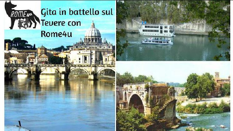 Gita in battello sul Tevere con visita guidata