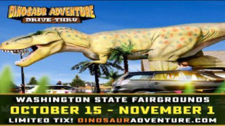 Dinosaur Adventure Drive-Thru Seattle