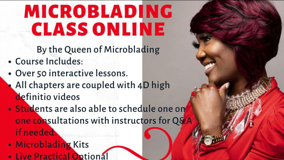 Enter for the chance to win Free Online Microblading Training