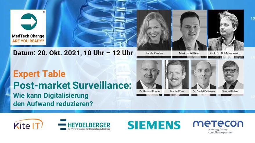 MedTech Change - Post-market Surveillance