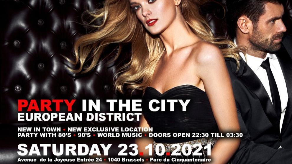 PARKSIDE • INTERNATIONAL PARTY • Party In The City ~ European District By JUST A NIGHT