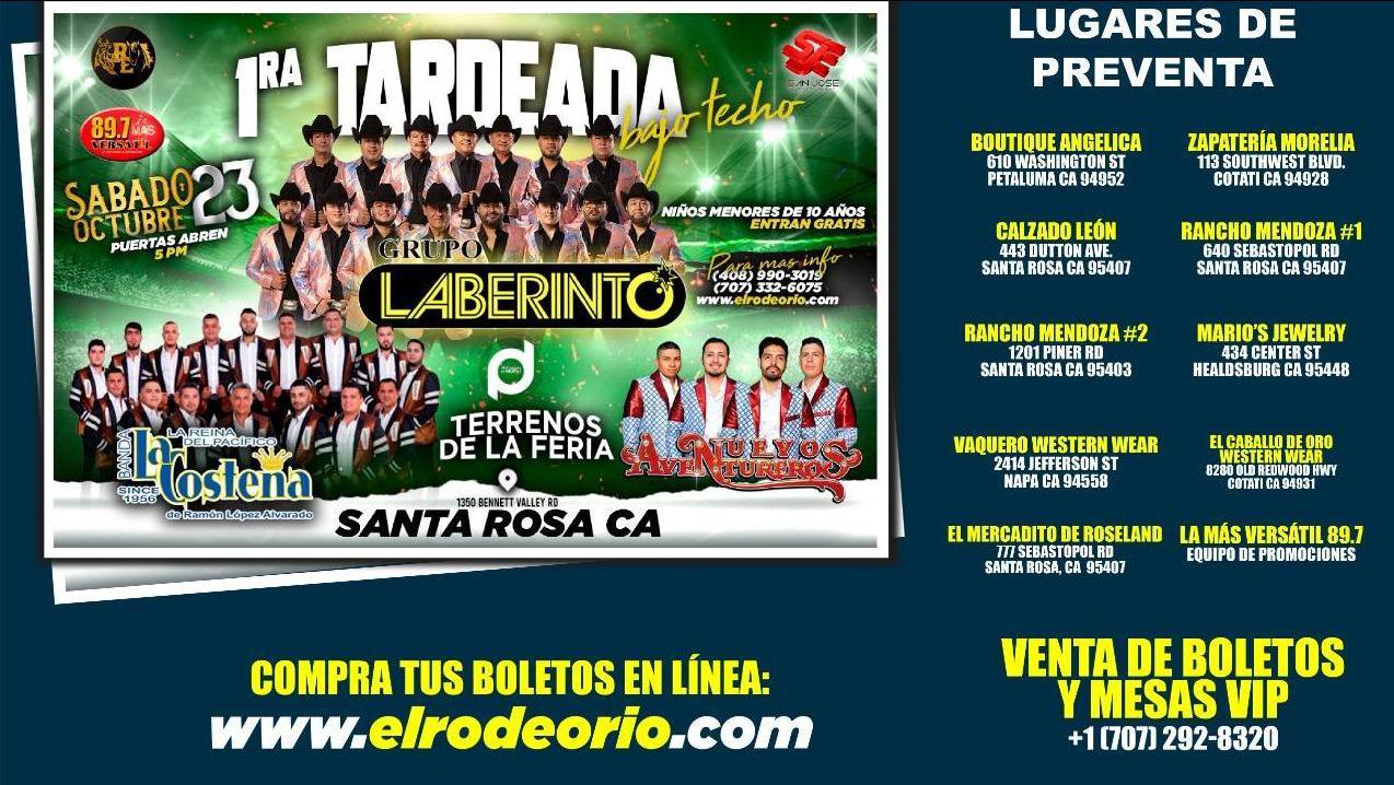 Grupo Laberinto y Banda La Costeña