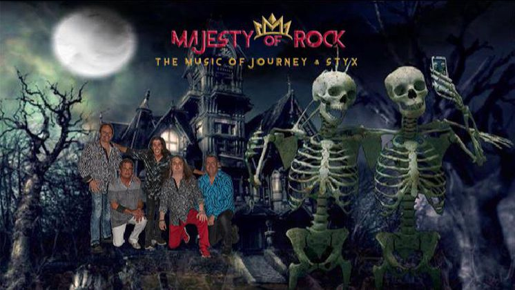 Outdoor Halloween Concert: The Music of Journey and Styx