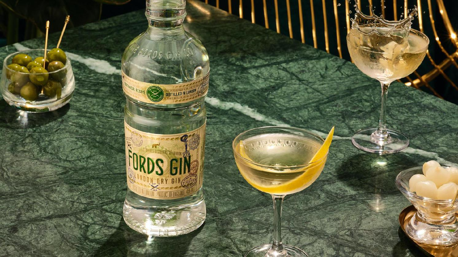 Sip and Savour Martinis and Oysters with Fords Gin this London Cocktail Week