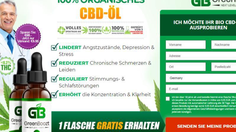 Greenboozt CBD Safe To Utilize