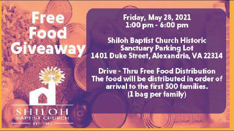 Free Food Giveaway