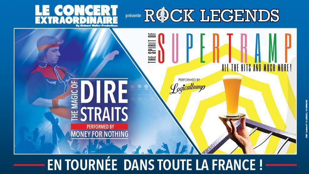 Rock Legends : Hommage à Supertramp & Dire Straits