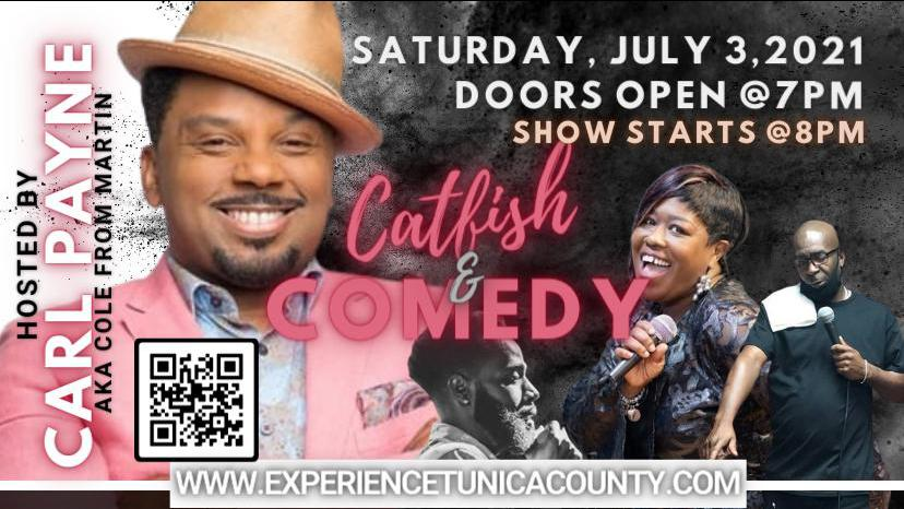 Catfish and Comedy Show