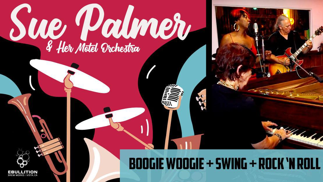 Sue Palmer & Her Motel Swing Orchestra