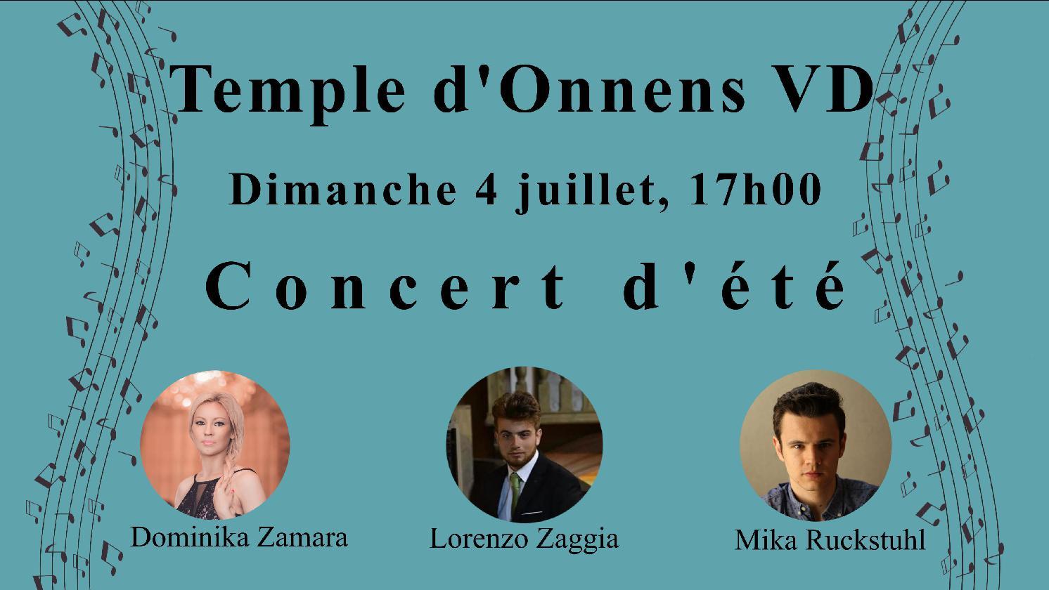 Concert d'été