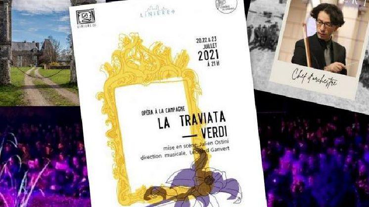 LA TRAVIATA, de VERDI, direction musicale Léonard Ganvert