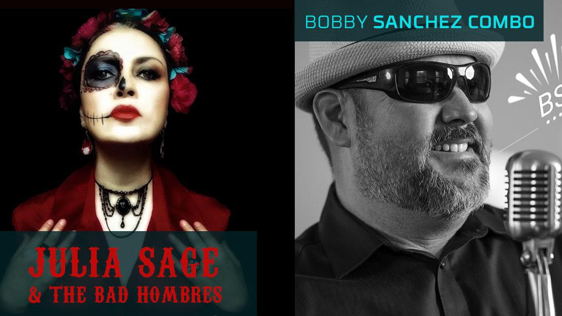 Latino Rock'n Blues party ft. Julia Sage & the Bad Hombres + The Bobby Sanchez Combo