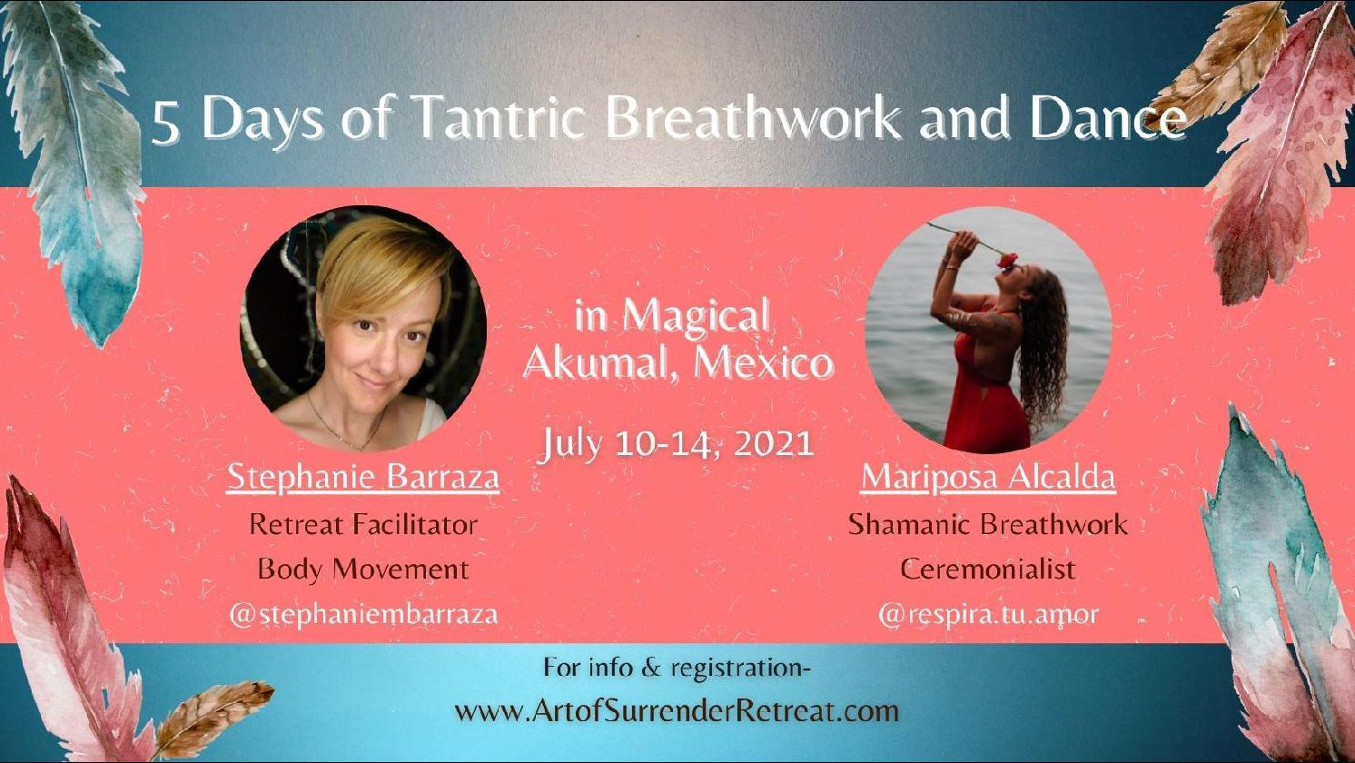 5 Days of Tantric Breathwork and Dance in Magical Akumal, Mexico