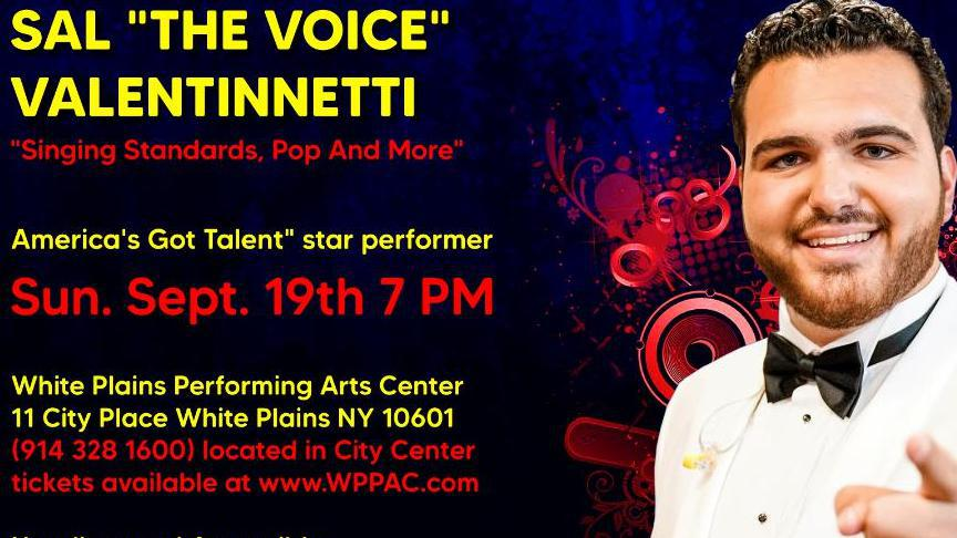 Sal The Voice Valentinetti in Concert