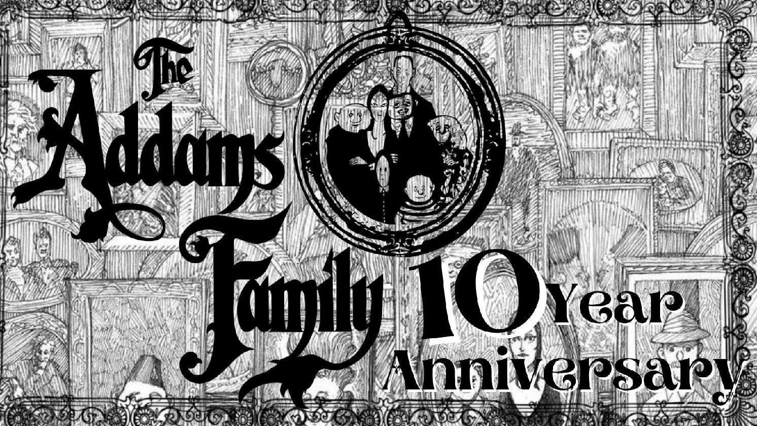 Envoute's Addams Family 10 Year Anniversary Gala w/Divine Hand Ensemble