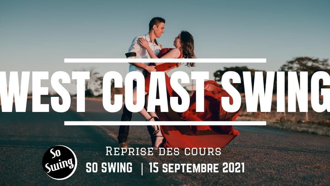 Reprise des Cours de West Coast Swing - Danse de couple