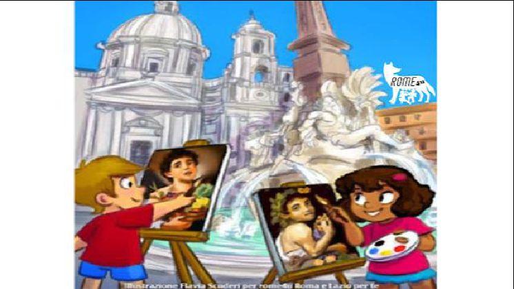 A spasso con Bernini, Borromini e Caravaggio sulle ali del Barocco - Visita guidata per bambini Roma
